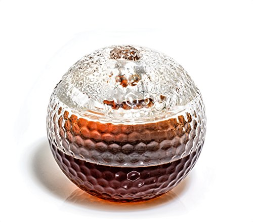 Golf Ball Liquor Decanter - Golf Gifts for Men & Women Who Love Scotch, Whiskey, Bourbon, etc. - Home Decor Golf Accessories, Gifts for Golfers (1000ml Whiskey Decanter) Golfing Gift for Men/Women by Prestige Decanters (Image #3)