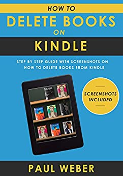 How to delete books from kindle library