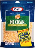 Kraft, 4 Cheese Mexican Style Blend, Finely Shredded, 8 oz
