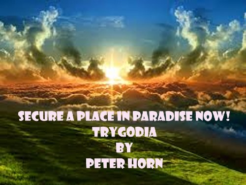 Amazoncom Secure A Place In Paradise Now Trygodia Drama