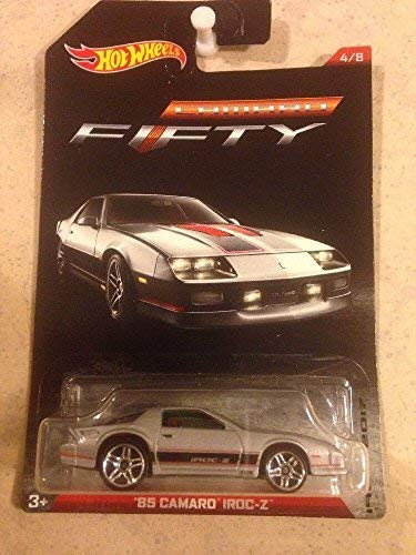 2017 Hot Wheels Camaro 50th Anniversary '85 Camaro Iroc-Z 4/8 - Silver ()