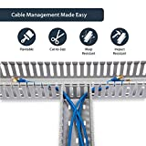 StarTech.com Server Rack Cable Management - 3x3in