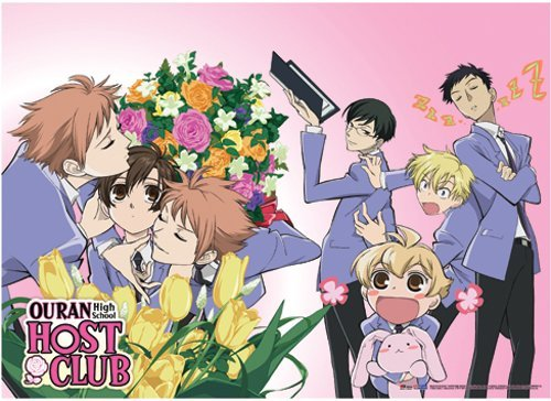 (Ouran High School Host Club: Smothered Haruhi Wall Scroll by Ouran High School Host Club)