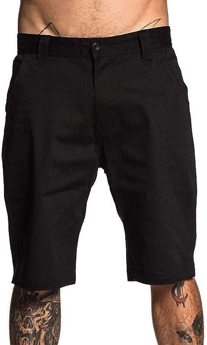 d8da011770 Sullen Men's Direct Walk Shorts Black 40 at Amazon Men's Clothing store:
