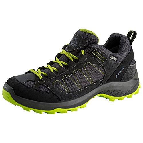 McKinley hombre multifunción zapatos confort de viaje AQX negro/rojo oscuro grey dark/green lime