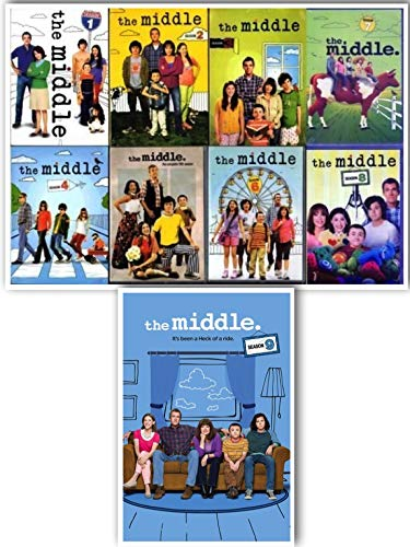 The Middle: Complete Series Seasons 1-9 DVD