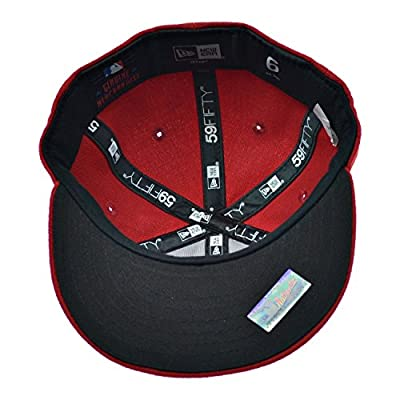 New Era Cincinnati Reds 59Fifty Infant Fitted Hat Cap Red/White 10283618 (Size 6)