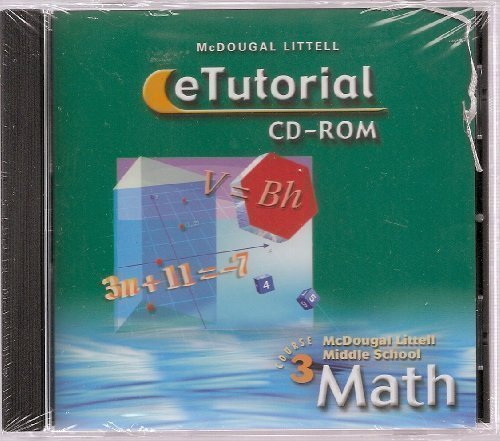 Download McDougal Littell Middle School Math, Course 3: eTutorial CD-ROM pdf epub