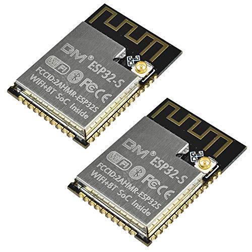 2 ESP32 ESP32-S ESP32Sシリアル - WiFi Bluetoothデュアルコア32ビットCPU IPEXモジュール