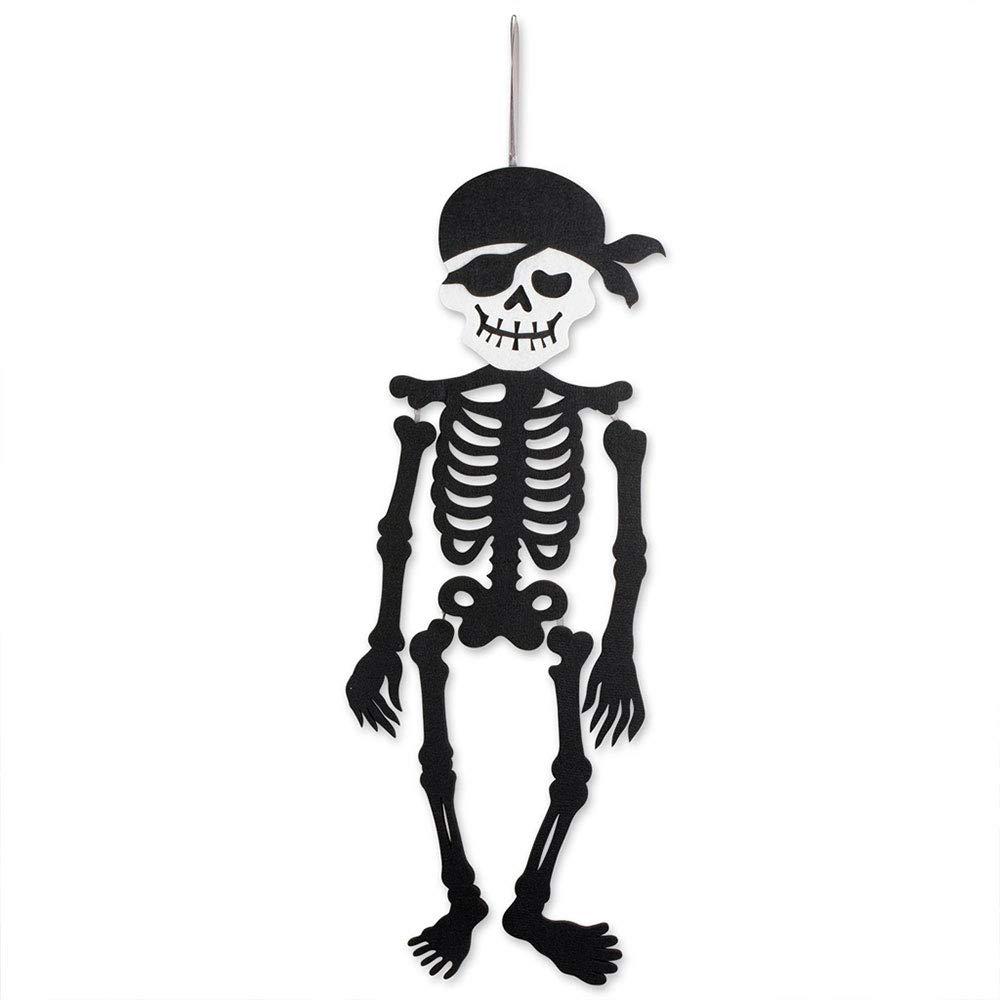 Aprettysunny Halloween Decoration Door Hanging Spooky Non-Woven Fabric Party Decor