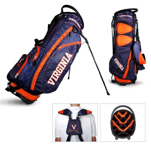 Golf Stand Virginia Bag - Team Golf Virginia Cavaliers Fairway Lightweight 14-Way Top Golf Club Stand Bag