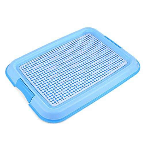Dog Training Trays, Petforu Pet Training Pad Holder [BLUE + WHITE]