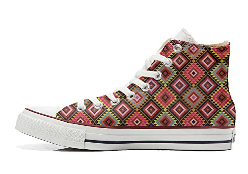 Converse All Star Customized - zapatos personalizados (Producto Artesano) African Texture