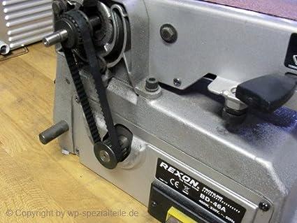 BD-460A Rexon BD-46A 900x Zahnriemen Schleifmaschine Scheppach BTS 800 BDSM