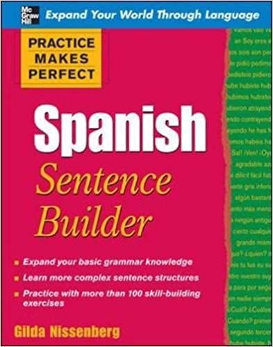 Amazon practice makes perfect spanish sentence builder practice makes perfect spanish sentence builder practice makes perfect series 1st edition ccuart Choice Image