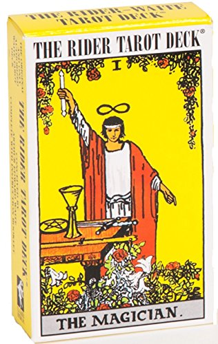 Fondle admiringly Knight Ryder WITT Tarot Card Single-Year 100th Anniversary Edition Novice Divination Original Introduction
