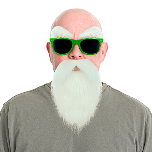 Dragon Sennin Costume Mustache Glasses product image