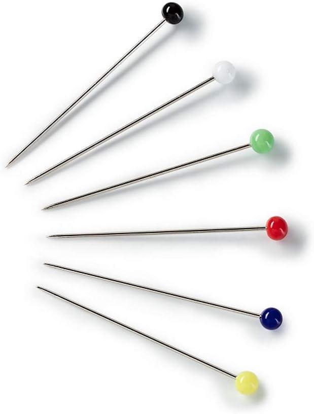 im Lieferumfang enthalten kompatibel mit Prym Glaskopf-Stecknadeln bunt 0,60 x 0,30mm Beere SEMPLIX Magnet-Nadelkissen