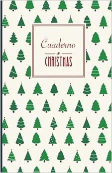 Book Cuaderno Christmas. Arboles de Navidad: Malla de puntos, Tapa blanda, 14x21cm, 130 páginas: Volume 1