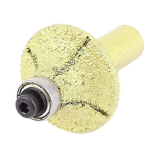 35mm Diamètre Bullnose diamant Profil Roue Bit Router pour Marble