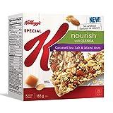 Kellogg's Special K Nourish Bar with Quinoa, Caramel Sea Salt and Mixed Nuts, 165g