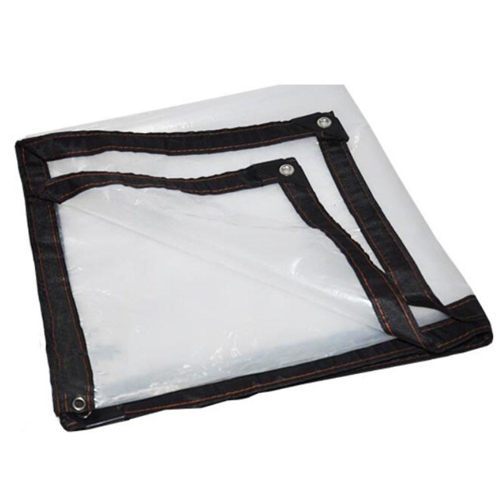 QIANGDA オーニング シェード遮光ネットシェッド プラスチックフィルム 防水 防風 高い透明度 ポリエチレン 暖かい動物 パーゴラフード 温室、 マルチサイズ オプション (サイズ さいず : 4 x 5m) B07F151WHN 4 x 5m  4 x 5m
