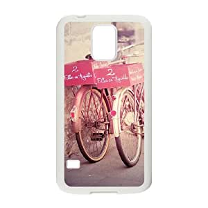 SHJFDIYCase Design Customized Bicycle Durable Hard Plastic Case Cover for SamSung Galaxy S5 I9600, Customized Phone Case SHJF-510834