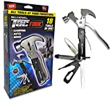 Bell + Howell TAC TOOL stainless steel 18-in-1 multitool As Seen On TV, black, 6″5 Review