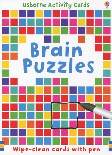 Brain Puzzles (Usborne Activity Cards)
