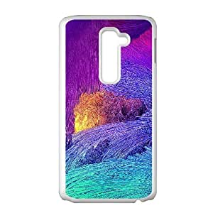 New Style Colorful Pattern Image Phone Case For LG G2
