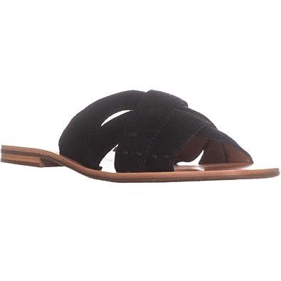 86b5f4d87 FRYE Womens Carla Criss Cross Open Toe Casual Slide Sandals