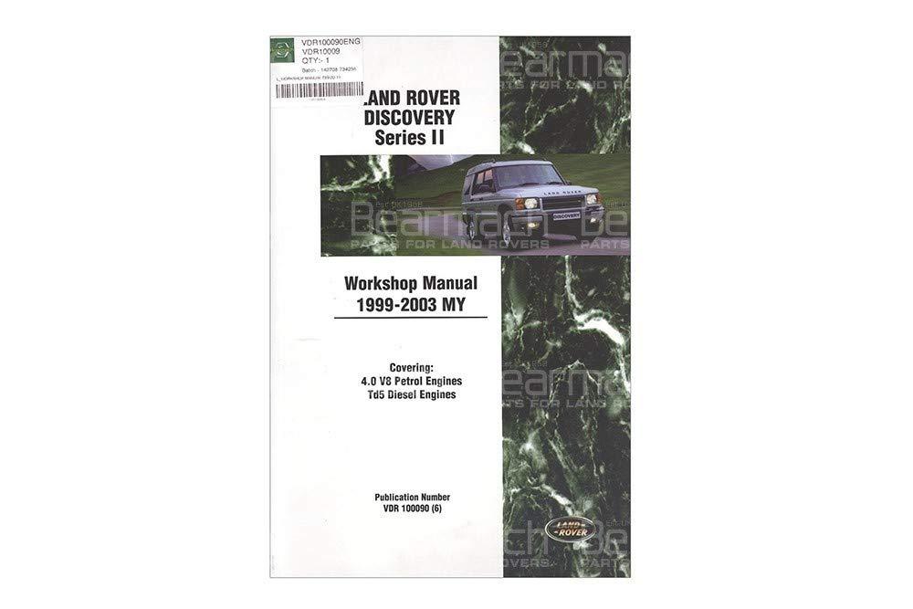 BEARMACH OEM - Workshop Manual - Discovery 2 Part# VDR10009