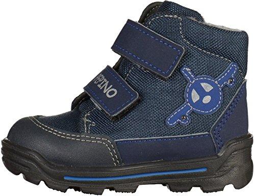 Ricosta 3733700-177 - Zapatillas de senderismo para niño Azul Nautic/Ozean azul
