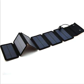 Cargador solar plegable con cargador USB para iPhone 6S/6 ...
