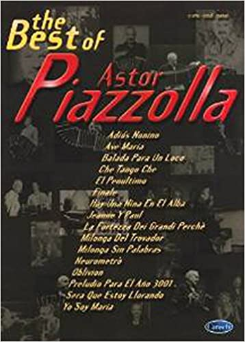 Collections de livres électroniques BEST OF ALBUM PIAZZOLLA ASTOR in French PDF CHM B00EELNCE2