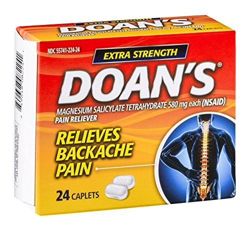 Doan's Extra Strength Pain Reliever Caplets by Doans