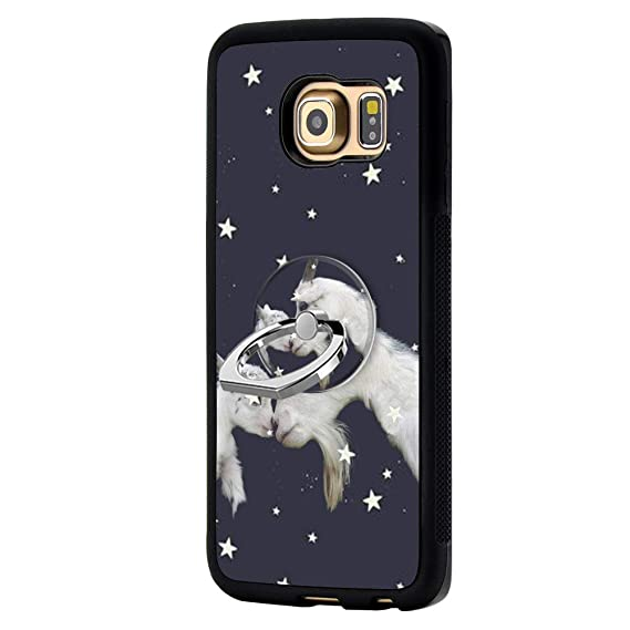 Car Electronics & Accessories GPS Accessories Deer Samsung Galaxy S6 Edge Plus Case with Ring Holder Stand Cellphone 360 Degree Rotating Ring Holder KickstandDrop Protective Cover for Samsung Galaxy S6 Edge Plus