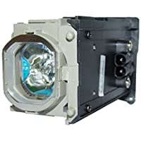 AuraBeam Mitsubishi VLT-HC6800LP Projector Replacement Lamp with Housing