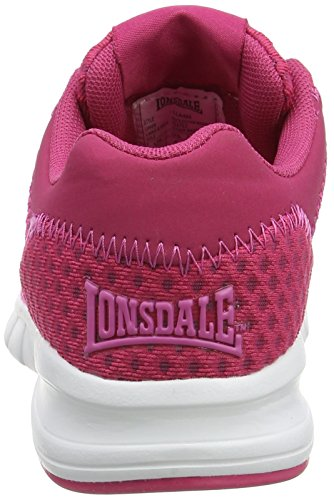 Running Lonsdale Rosa Tydro Mujer beetroot De Zapatillas pink FTTPApf