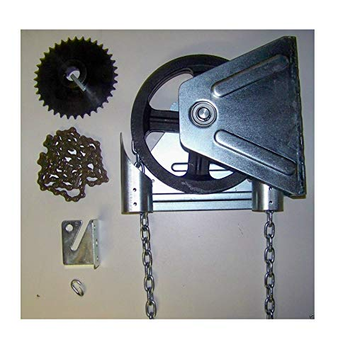 (Thaisan7, Garage Door Chain Hoist - Wall Mount-Gear Reduced - 2000R,for repairing, fixing)