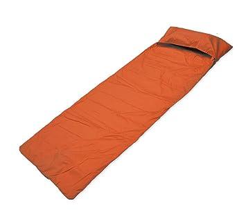 Sacos de dormir/campamento/Hotel/pocos sucia sanitarios , orange: Amazon.es: Deportes y aire libre