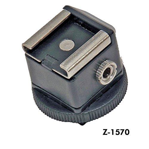 ZUMA PHOTO.VIDEO Z-1570 Hot Shoe, Universal Translator, Black from ZUMA PHOTO.VIDEO