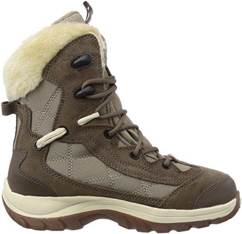 Scarponcini Da beige siltstone 5116 Park Icy Jack Texapore Neve Wolfskin Beige Donna IqB7xa