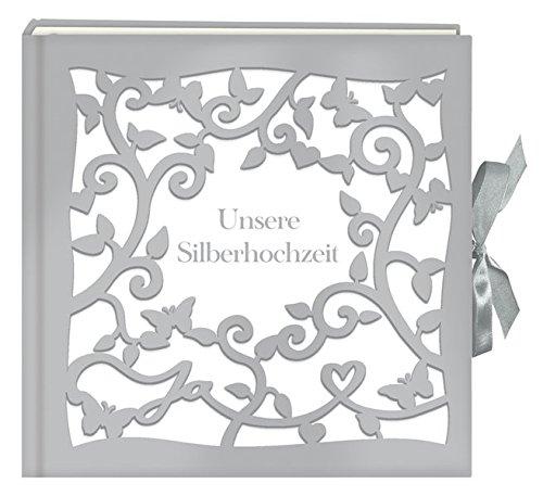 Großes Fotoalbum/Gästebuch - Unsere Silberhochzeit (Große Fotoalben)