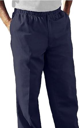 d0a391832a8 Amazon.com  Falcon Bay Full Elastic Waist Casual Twill Pant  Clothing