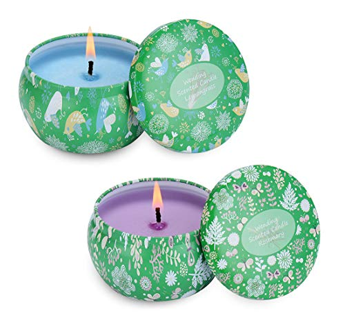 Scented Candles 4.5oz Each 25H Burning Time Big