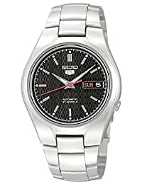 Seiko Men's SNK607 Automatic-Self-Wind Black Dial Watch
