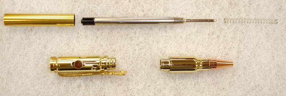 Charnwood Pen Turning PENLLG Lock n Load Bullet Pen - Gold