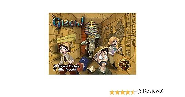 GM Games-Momia Gizeh-Juego de Cartas (GDM Games GDM2077): Amazon.es: Juguetes y juegos