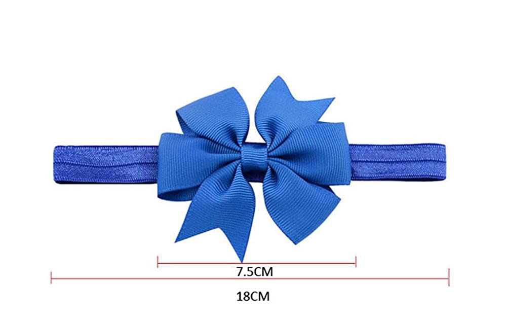 Girls Hairbands for Newborn Baby Headbands Turban Knotted Toddler and Childrens